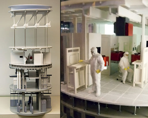 Intel Clean Room Manufacturing Facility
